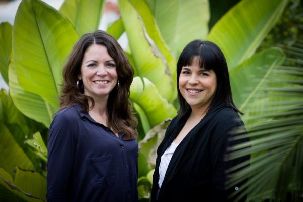 Ruth Giménez y Pilar Martínez